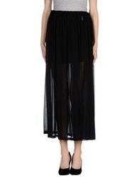 Gaudi' Long Skirts Black