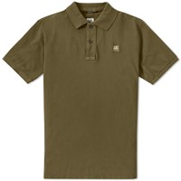 C.P. Company Patch Logo Polo Green