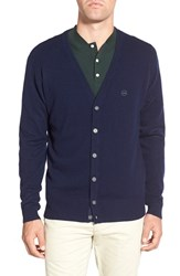 Ag Jeans Men's Ag 'Marker' Wool And Cashmere Cardigan Navy