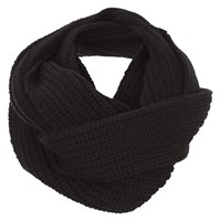 Damsel In A Dress Knitted Snood Black