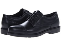 Dunham Jackson Cap Toe Waterproof Black Men's Lace Up Cap Toe Shoes