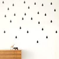 Ferm Living Mini Drops Wall Sticker