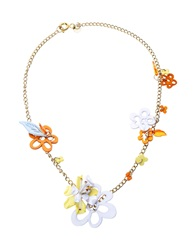 Matthew Williamson Necklaces White