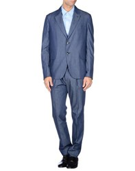 Valentino Suits And Jackets Suits Men Slate Blue