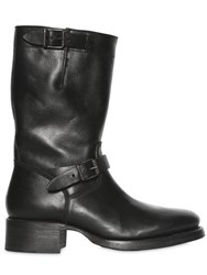 Dsquared 50Mm Belted Leather Boots