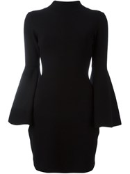 Milly Bell Sleeve Dress Black