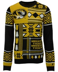 Forever Collectibles Men's Missouri Tigers Patches Christmas Sweater