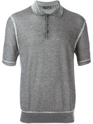 Christian Dior Homme Classic Polo Shirt Grey