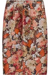 Givenchy Skirt In Metallic Floral Jacquard