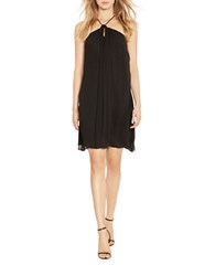 Polo Ralph Lauren Silk Halter Dress Black