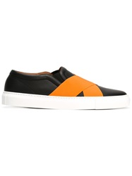 Givenchy Cross Strap Sneakers Black