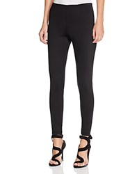 Guess Mid Rise Cadee Scuba Leggings Jet Black