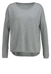 Evenandodd Jumper Light Grey Mottled Light Grey