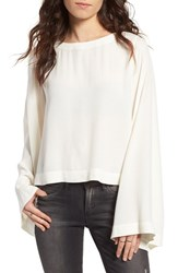 Women's Bp. Bell Sleeve Blouse Ivory