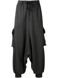 Y 3 Dropped Crotch Cargo Trousers