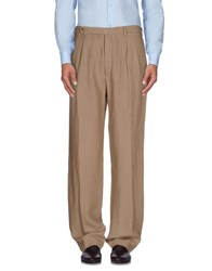 Piombo Trousers Casual Trousers Men Sand