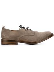 Buttero Classic Derby Shoes Nude And Neutrals