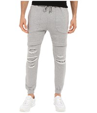 Publish Lowell Sweat Jogger Heather Men's Casual Pants Gray
