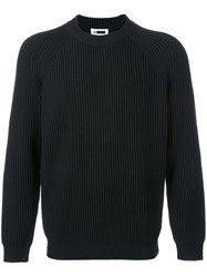 H Beauty And Youth. Ribbed Jumper Black
