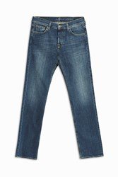 7 For All Mankind Men S Standard Light Wash Jeans Boutique1 Blue