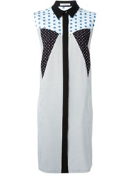 J.W.Anderson J.W. Anderson Polka Dot Patchwork Dress Multicolour