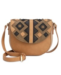 Inc International Concepts Marginy Saddle Bag Only At Macy's Olive