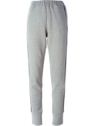 Tomas Maier Side Stripe Track Pants Grey