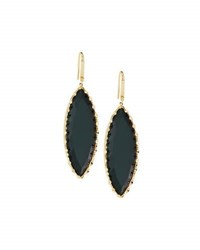 Lana 14K Midnight Marquise Drop Earrings Green