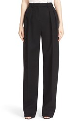 Boss Women's 'Temina' Wool And Cashmere Wide Leg Trousers