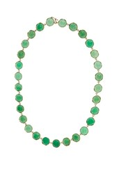 Irene Neuwirth Chrysoprase And Yellow Gold Necklace