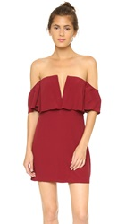 Lovers Friends Primrose Dress Wine