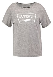 Vans Water Print Tshirt Grey Heather Mottled Grey