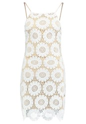 Missguided Cocktail Dress Party Dress White