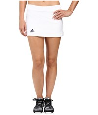 Adidas Club Primefit Skort White Collegiate Navy Women's Skort Blue