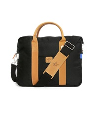 Faguo Black Laptop Nylon Bag