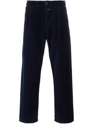 Closed Corduroy Trousers Blue