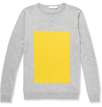 London Collections. Men Richard Nicoll Merino Wool Crew Neck Sweater Mr Porter