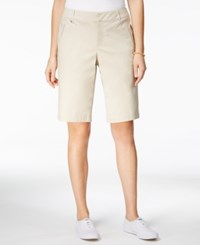 Charter Club Embellished Bermuda Shorts Only At Macy's Sand