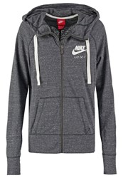 Nike Sportswear Gym Vintage Fz Tracksuit Top Anthracite Sail Mottled Anthracite