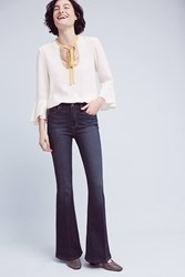 Anthropologie Paige High Rise Bell Canyon Petite Jeans Denim Light