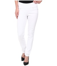 Jag Jeans Nora Skinny Pull On In White White Women's Jeans