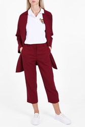 Paul And Joe Sister Wool Crepe Jacket Red