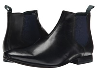 Ted Baker Hourb Black Leather Men's Dress Pull On Boots