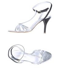 Luca Valentini High Heeled Sandals Silver