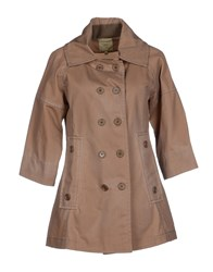 Jejia Coats And Jackets Jackets Women Khaki