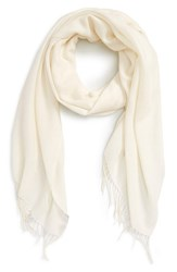 Women's Nordstrom Tissue Weight Wool And Cashmere Scarf