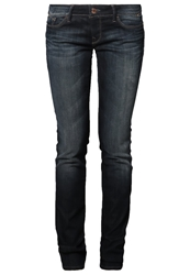 Mavi Jeans Mavi Lindy Slim Fit Jeans Dark Sparkle Dark Blue