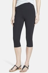 Nydj Fit Solution Trainer Cropped Legging Black