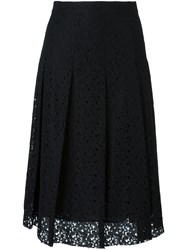 Philosophy Di Lorenzo Serafini Lace Midi Skirt Black