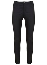 Mint Velvet Atlanta Black Coated Jegging Black